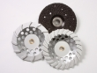 Blastrac offers a variety of application specific diamond cup wheels and grinding disks.