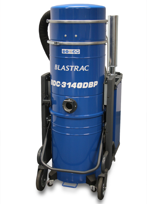 BDC-3140P heavy-duty dust collection system